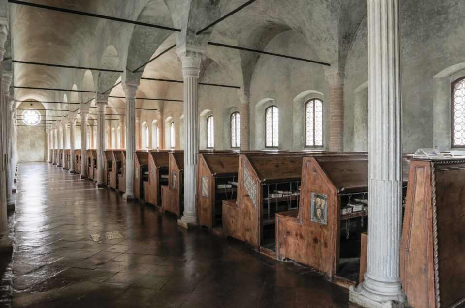 Hotel Annamaria Cesenatico - Biblioteca malatestiana di cesena